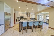 Architectural House Design - Adobe / Southwestern Interior - Kitchen Plan #451-25