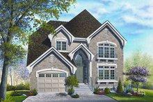 House Design - European Exterior - Front Elevation Plan #23-801