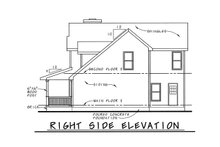 Architectural House Design - Country Exterior - Other Elevation Plan #20-2218
