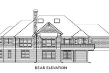 Craftsman Exterior - Rear Elevation Plan #48-300