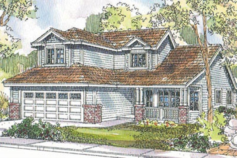Dream House Plan - Craftsman Exterior - Front Elevation Plan #124-726