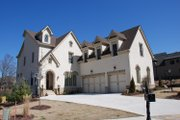 European Style House Plan - 5 Beds 5 Baths 3922 Sq/Ft Plan #419-233 Exterior - Other Elevation