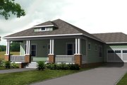 Craftsman Style House Plan - 3 Beds 2 Baths 1728 Sq/Ft Plan #461-26 Photo