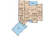 Farmhouse Style House Plan - 3 Beds 3.5 Baths 3004 Sq/Ft Plan #923-120 Floor Plan - Main Floor