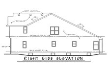 Dream House Plan - Traditional Exterior - Other Elevation Plan #20-1713