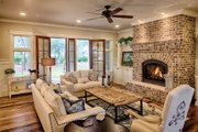 Farmhouse Style House Plan - 4 Beds 4.5 Baths 3292 Sq/Ft Plan #928-10 Interior - Family Room