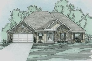 Traditional Exterior - Front Elevation Plan #31-138