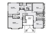 Contemporary Style House Plan - 3 Beds 2.5 Baths 2543 Sq/Ft Plan #1066-4 Floor Plan - Upper Floor Plan