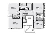 Contemporary Style House Plan - 3 Beds 2.5 Baths 2543 Sq/Ft Plan #1066-4 Floor Plan - Upper Floor