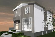 Contemporary Style House Plan - 3 Beds 3.5 Baths 2880 Sq/Ft Plan #535-26 Exterior - Front Elevation