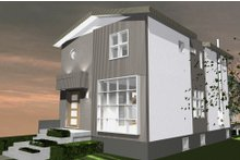 Contemporary Exterior - Front Elevation Plan #535-26
