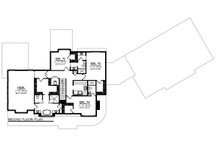 Country Floor Plan - Upper Floor Plan Plan #70-1488