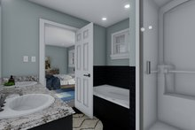 Dream House Plan - Craftsman Interior - Master Bathroom Plan #1060-66