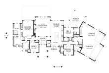 Ranch Floor Plan - Main Floor Plan Plan #48-712