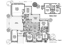 Farmhouse Floor Plan - Main Floor Plan Plan #310-1319