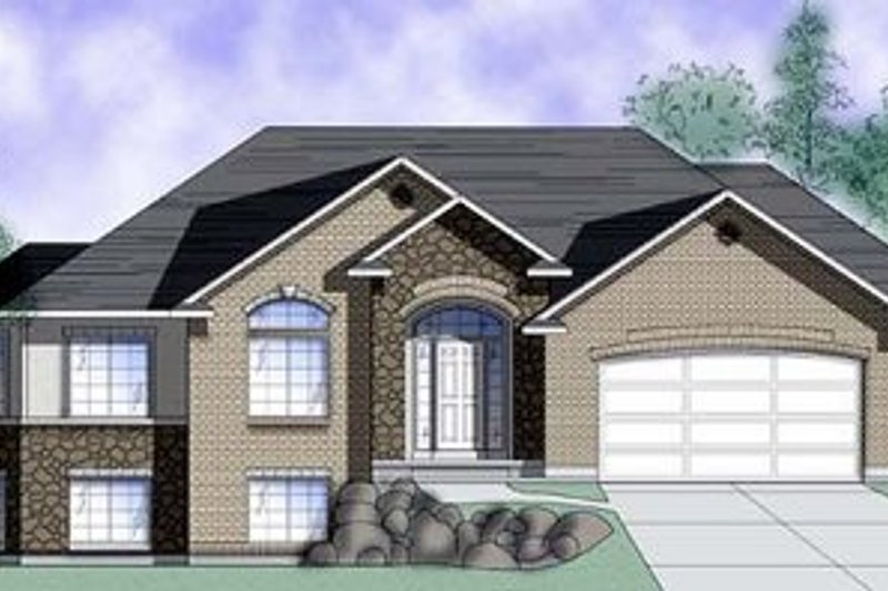 Home Plan - Traditional Exterior - Front Elevation Plan #5-116