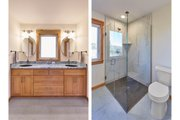 Craftsman Style House Plan - 2 Beds 2.5 Baths 2050 Sq/Ft Plan #890-12 Interior - Master Bathroom