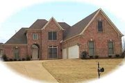 Traditional Style House Plan - 3 Beds 3 Baths 2873 Sq/Ft Plan #81-583 Exterior - Front Elevation