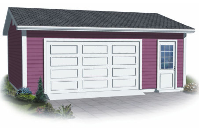 Traditional Exterior - Front Elevation Plan #23-2185 - Houseplans.com