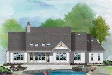 Architectural House Design - Farmhouse Exterior - Rear Elevation Plan #929-1128