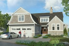 Colonial Exterior - Front Elevation Plan #928-334