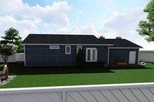 Ranch Exterior - Rear Elevation Plan #1060-38
