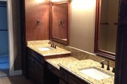 European Style House Plan - 3 Beds 2 Baths 2842 Sq/Ft Plan #437-62 Interior - Master Bathroom