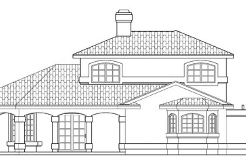 Exterior - Other Elevation Plan #124-236 - Houseplans.com