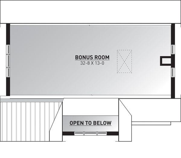 Dream House Plan - Bonus