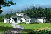 Adobe / Southwestern Style House Plan - 5 Beds 3 Baths 3303 Sq/Ft Plan #1-1000