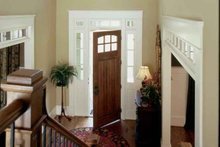 Dream House Plan - European Interior - Entry Plan #927-24