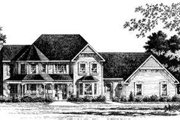 Victorian Style House Plan - 3 Beds 2.5 Baths 2707 Sq/Ft Plan #328-143