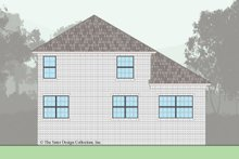 Architectural House Design - Traditional Exterior - Rear Elevation Plan #930-498
