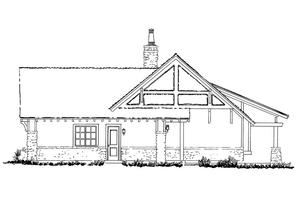 craftsman style house plan - 3 beds 2 5 baths 2248 sq  ft plan  942-58