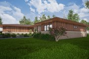 Contemporary Style House Plan - 3 Beds 2.5 Baths 2344 Sq/Ft Plan #923-152 Exterior - Other Elevation