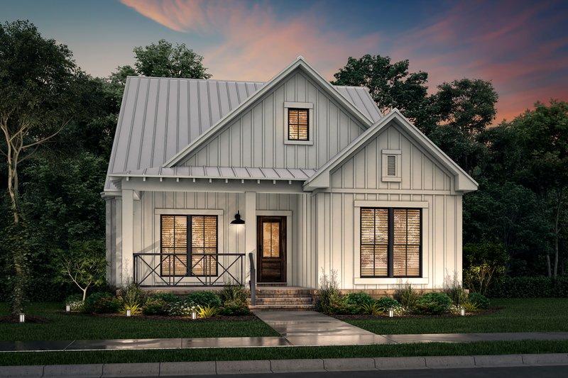 Architectural House Design - Farmhouse Exterior - Front Elevation Plan #430-243