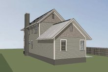 Dream House Plan - Craftsman Exterior - Rear Elevation Plan #79-303