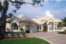 Dream House Plan - Contemporary Exterior - Front Elevation Plan #930-17