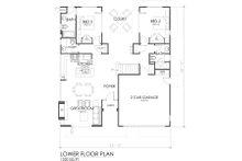 Modern Floor Plan - Main Floor Plan Plan #484-2