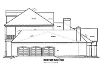 Southern Exterior - Other Elevation Plan #45-179
