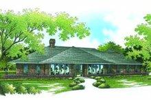 House Plan Design - Prairie Exterior - Front Elevation Plan #45-199