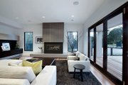 Modern Style House Plan - 4 Beds 2.5 Baths 3584 Sq/Ft Plan #496-18 Interior - Family Room