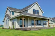 Farmhouse Style House Plan - 4 Beds 2.5 Baths 3138 Sq/Ft Plan #1070-51 Exterior - Rear Elevation