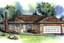 Home Plan - Ranch Exterior - Front Elevation Plan #18-107