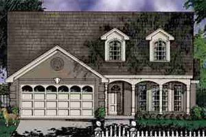 Traditional Exterior - Front Elevation Plan #40-122