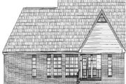 Traditional Style House Plan - 3 Beds 3.5 Baths 2200 Sq/Ft Plan #21-178 Exterior - Rear Elevation