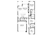 Contemporary Style House Plan - 3 Beds 2 Baths 1922 Sq/Ft Plan #48-1030 Floor Plan - Main Floor