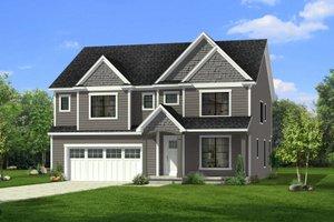 Craftsman Exterior - Front Elevation Plan #1057-31