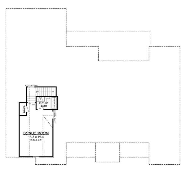 House Plan Design - Farmhouse Floor Plan - Upper Floor Plan #430-199