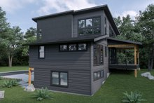 House Plan Design - Contemporary Exterior - Other Elevation Plan #1070-62
